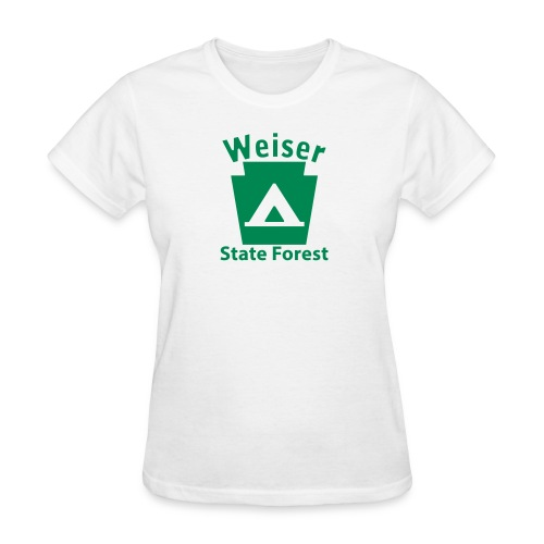 Weiser State Forest Keystone Camp - Women's T-Shirt