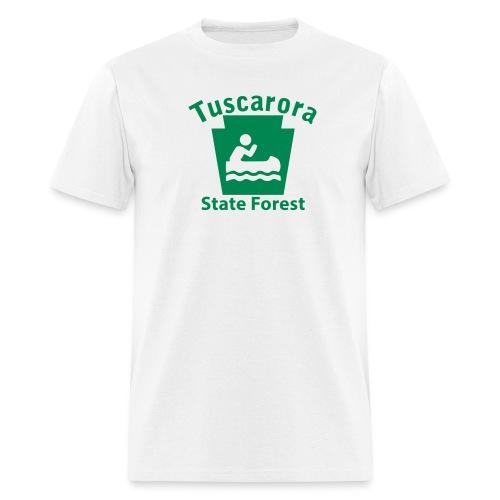 Tuscarora State Forest Keystone Boat - Men's T-Shirt