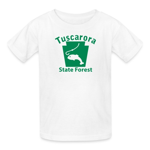 Tuscarora State Forest Keystone Fish - Kids' T-Shirt