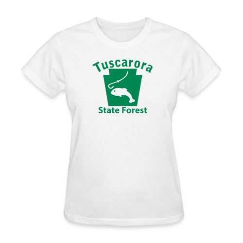 Tuscarora State Forest Keystone Fish - Women's T-Shirt