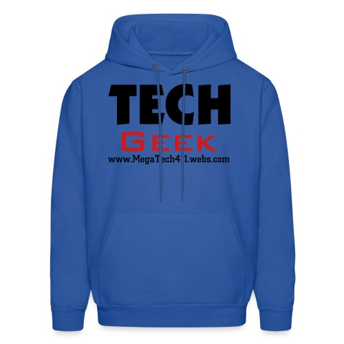 MegaTech411, Tech Geek Men's T-Shirt - Men's Hoodie