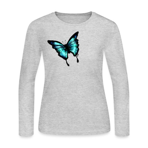 Butterfly - Women's Long Sleeve Jersey T-Shirt