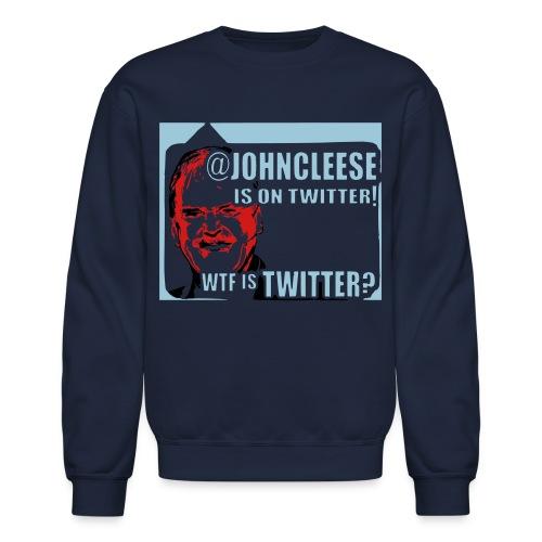 Twitter WTF? Men's Long Sleeved Sweatshirt - Crewneck Sweatshirt