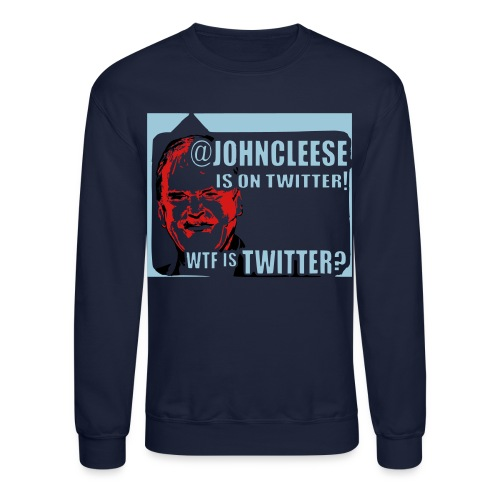 Twitter WTF? Men's Long Sleeved Sweatshirt - Crewneck Sweatshirt