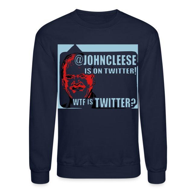 Twitter WTF? Men's Long Sleeved Sweatshirt