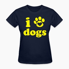 I Heart Dogs Women's T-Shirt