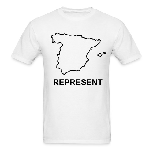 WP Represent Spain T - Men's T-Shirt