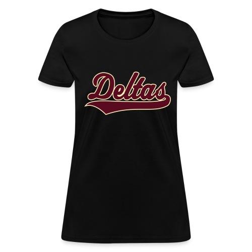 DPK Deltas Script Shirt - Women's T-Shirt