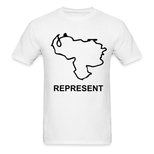 WP Represent Venezuela T - Men's T-Shirt