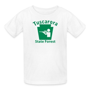 Tuscarora State Forest Keystone Hunt - Kids' T-Shirt