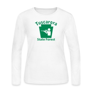 Tuscarora State Forest Keystone Hunt - Women's Long Sleeve Jersey T-Shirt