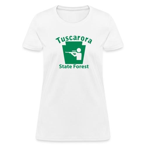 Tuscarora State Forest Keystone Hunt - Women's T-Shirt