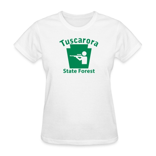 Tuscarora State Forest Keystone Hunt - Women's T-Shirt