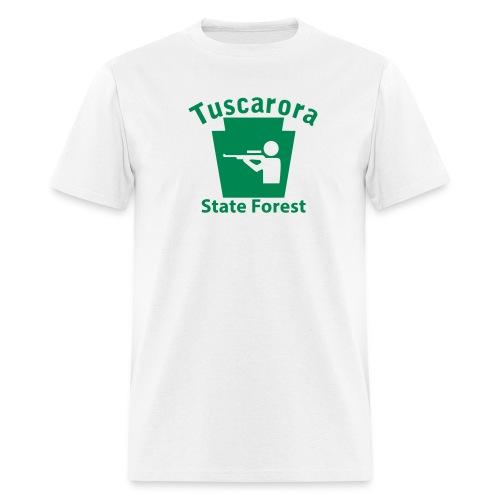 Tuscarora State Forest Keystone Hunt - Men's T-Shirt