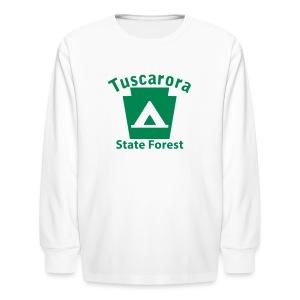 Tuscarora State Forest Keystone Camp - Kids' Long Sleeve T-Shirt