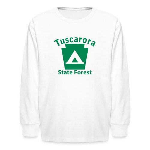Tuscarora State Forest Keystone Camp - Kids' Long Sleeve T-Shirt