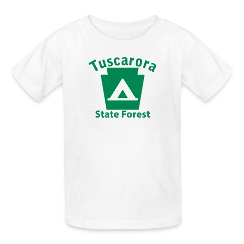 Tuscarora State Forest Keystone Camp - Kids' T-Shirt