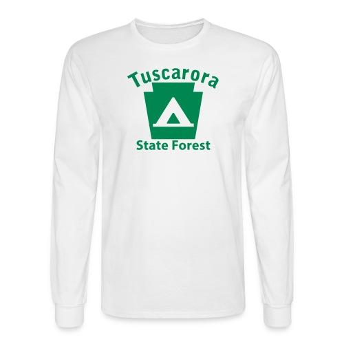 Tuscarora State Forest Keystone Camp - Men's Long Sleeve T-Shirt