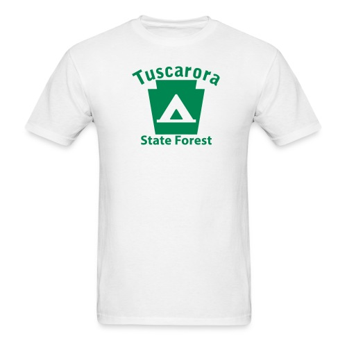 Tuscarora State Forest Keystone Camp - Men's T-Shirt