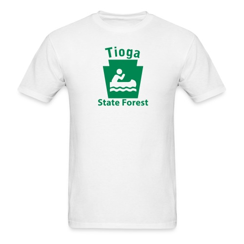 Tioga State Forest Keystone Boat - Men's T-Shirt
