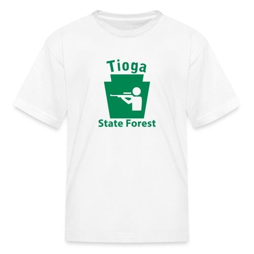 Tioga State Forest Keystone Hunt - Kids' T-Shirt