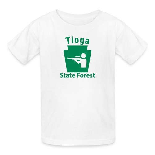 Tioga State Forest Keystone Hunt - Kids' T-Shirt