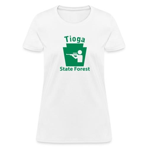 Tioga State Forest Keystone Hunt - Women's T-Shirt