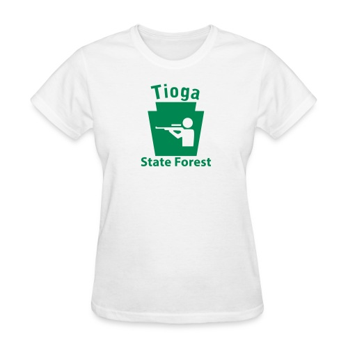 Tioga State Forest Keystone Hunt - Women's T-Shirt