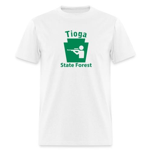 Tioga State Forest Keystone Hunt - Men's T-Shirt