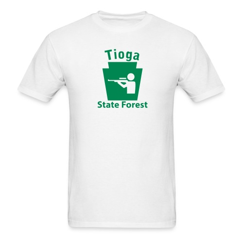 Tioga State Forest Keystone Hunt - Men's T-Shirt