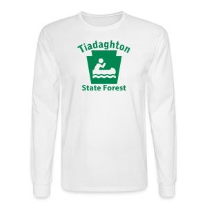 Tiadaghton State Forest Keystone Boat - Men's Long Sleeve T-Shirt