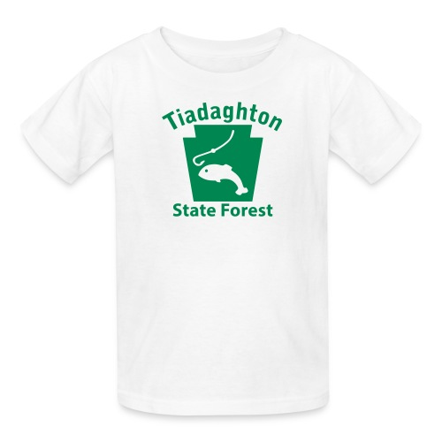 Tiadaghton State Forest Keystone Fish - Kids' T-Shirt