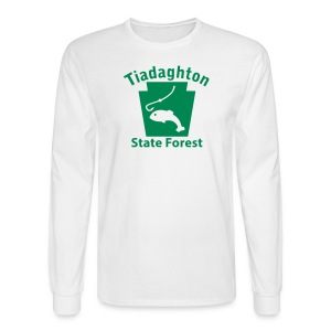 Tiadaghton State Forest Keystone Fish - Men's Long Sleeve T-Shirt