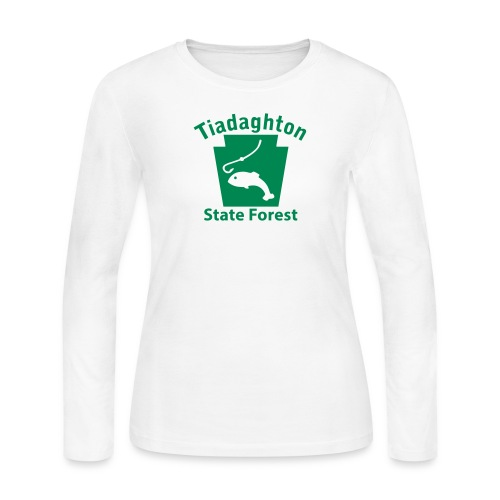 Tiadaghton State Forest Keystone Fish - Women's Long Sleeve Jersey T-Shirt