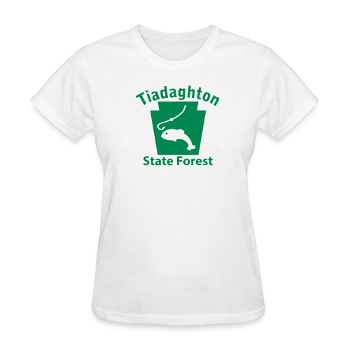 Tiadaghton State Forest Keystone Fish - Women's T-Shirt