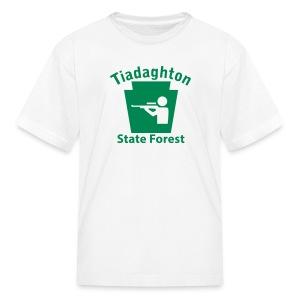 Tiadaghton State Forest Keystone Hunt - Kids' T-Shirt