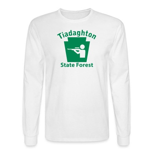 Tiadaghton State Forest Keystone Hunt - Men's Long Sleeve T-Shirt