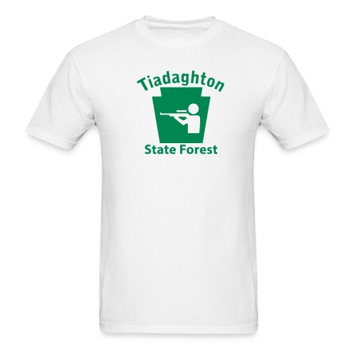 Tiadaghton State Forest Keystone Hunt - Men's T-Shirt