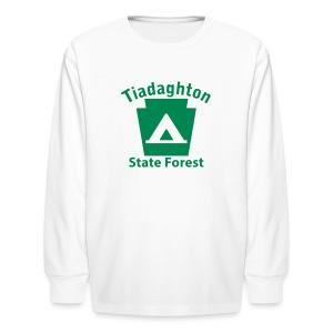 Tiadaghton State Forest Keystone Camp - Kids' Long Sleeve T-Shirt
