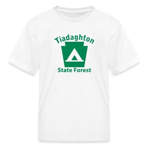 Tiadaghton State Forest Keystone Camp - Kids' T-Shirt