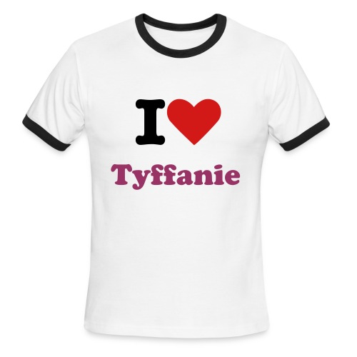 I Love Tyffanie Ringer T - Men's Ringer T-Shirt