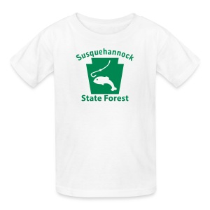 Susquehannock State Forest Keystone Fish - Kids' T-Shirt