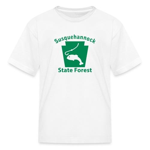 Susquehannock State Forest Keystone Fish - Kids' T-Shirt