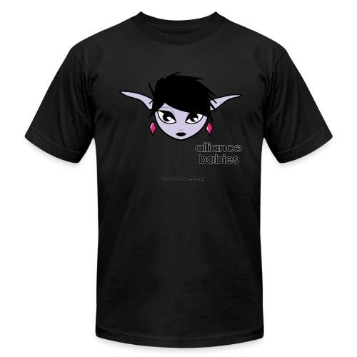 Warcraft: Ezmeralda the Night Elf Black T - Men's  Jersey T-Shirt