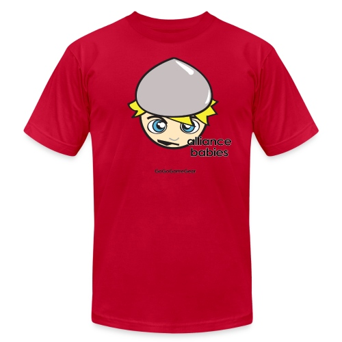 Warcraft: Morgan the Human AA T - Men's Fine Jersey T-Shirt