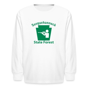 Susquehannock State Forest Keystone Hunt - Kids' Long Sleeve T-Shirt