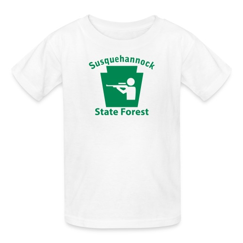 Susquehannock State Forest Keystone Hunt - Kids' T-Shirt