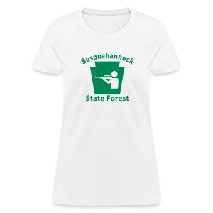 Susquehannock State Forest Keystone Hunt - Women's T-Shirt