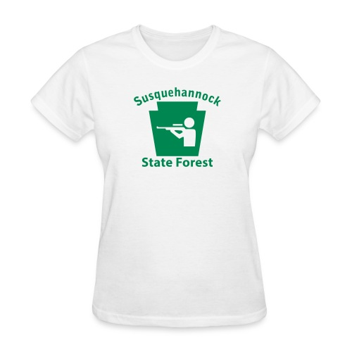 Susquehannock State Forest Keystone Hunt - Women's T-Shirt