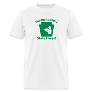 Susquehannock State Forest Keystone Hunt - Men's T-Shirt
